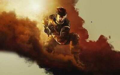 Tom Clancys Rainbow Six Siege 24x38inch Game Silk Poster Door Wall Decals