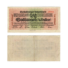 PROVINZ WESTFALEN: 0,42 GOLDMARK NOVEMBER 1923