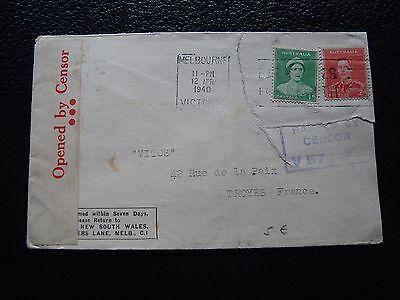 cy90 Australien Umschlag 12/4/1940 Australien