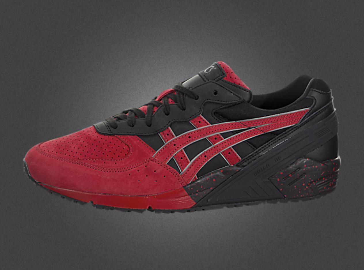 Asics GEL-Sight h6l2l9025 Black Red Shoes s1
