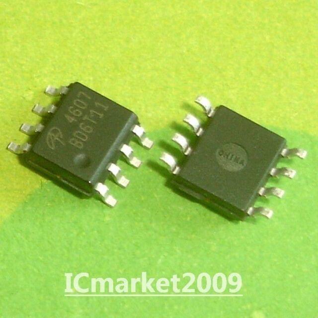 10 PCS AO4607 SOP AO 4607 Complementary Enhancement Mode Field Effect Transistor