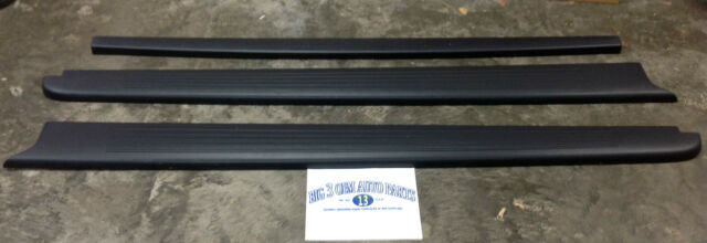 2004-2005 Ford F-150 Style Side Bed RH & LH Side RAILINGS w/ Tail Gate CAP OEM