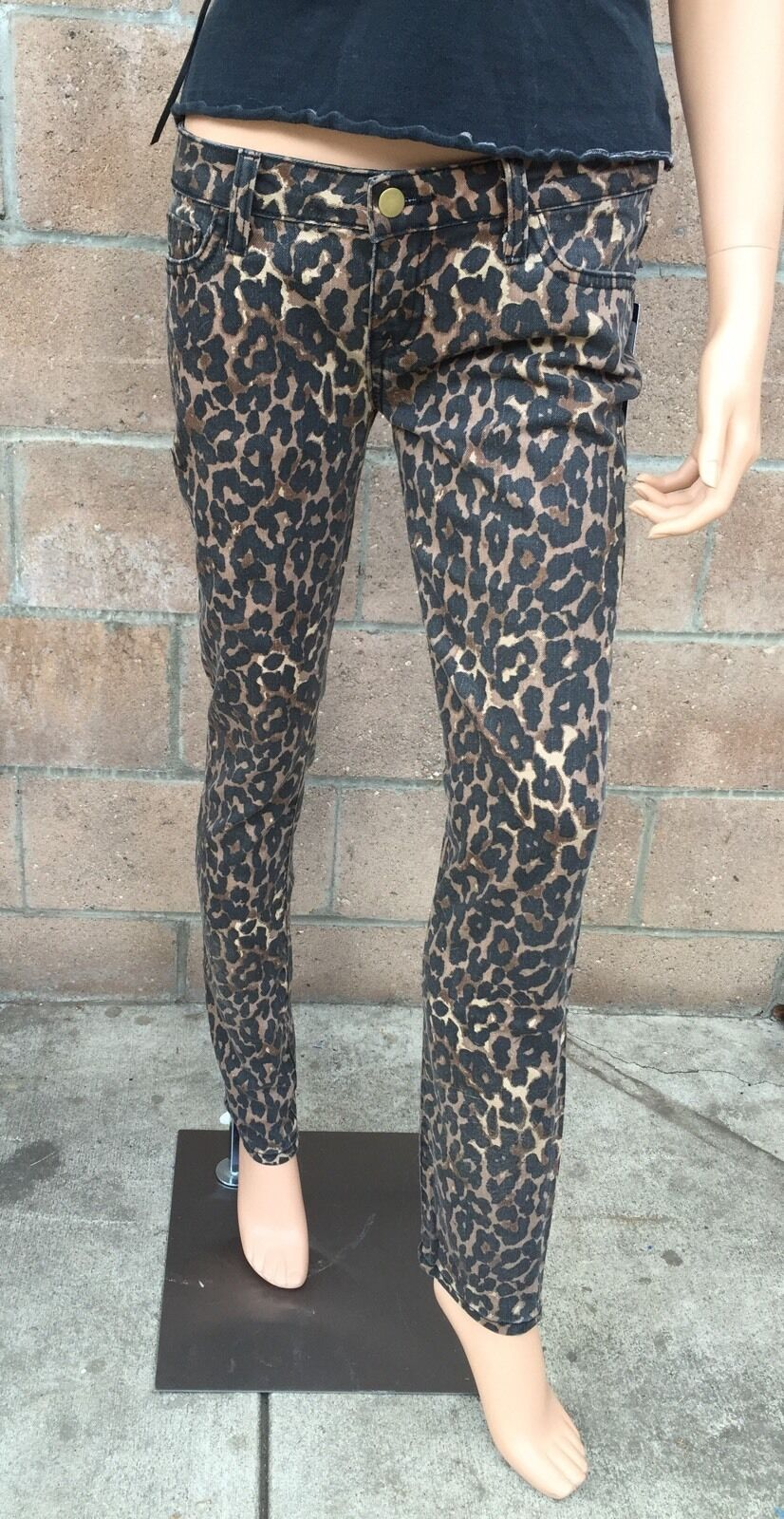 Rebecca Minkoff - Jessica w  cheetah size 4. gold zippers at ankles. cute