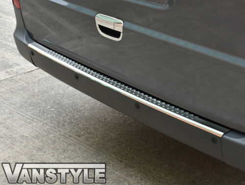 MERCEDES VITO VIANO W639 03/>10 REAR BUMPER PROTECTOR COVER STAINLESS STEEL