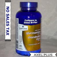 Member's Mark Triple Strength Glucosamine Chondroitin Msm 220ct.vs Osteo Bi-flex