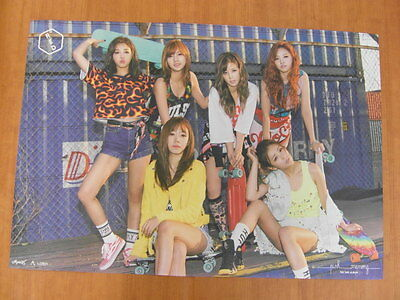 APINK - Pink Memory (Red Version) [OFFICIAL] POSTER K-POP *NEW*