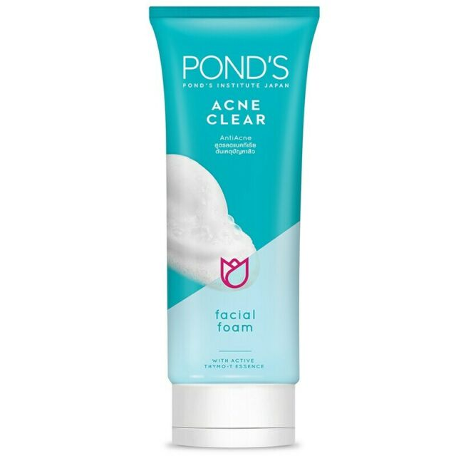 100g Face Wash Cleanser Ponds Acne Clear Foam Anti Acne Pimple Thymo T Essence S For Sale Online