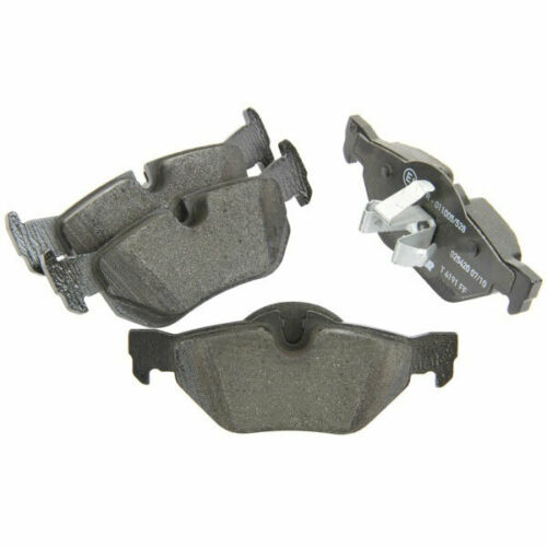 Fits BMW Pad Set Rear Brake Pads Teves//ATE System Low-Metallic NAO By Textar