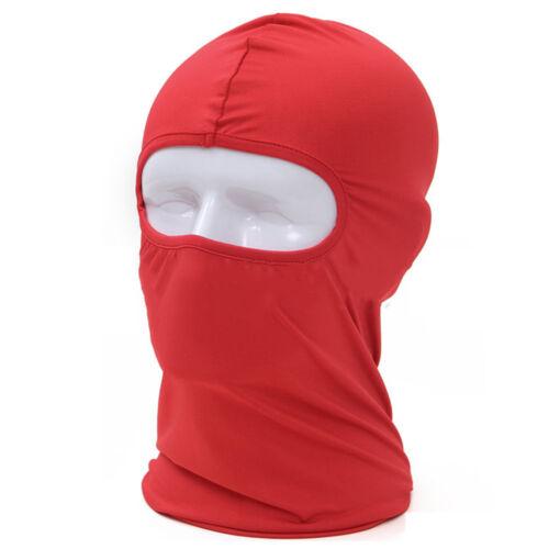 Cotton Balaclava Mask Bike Windproof Full Face Neck Guard Hat Outdoor Riding Cap