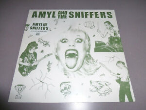 AMYL-AND-THE-SNIFFERS-s-t-LP-green-Vinyl-NEU-amp-OVP