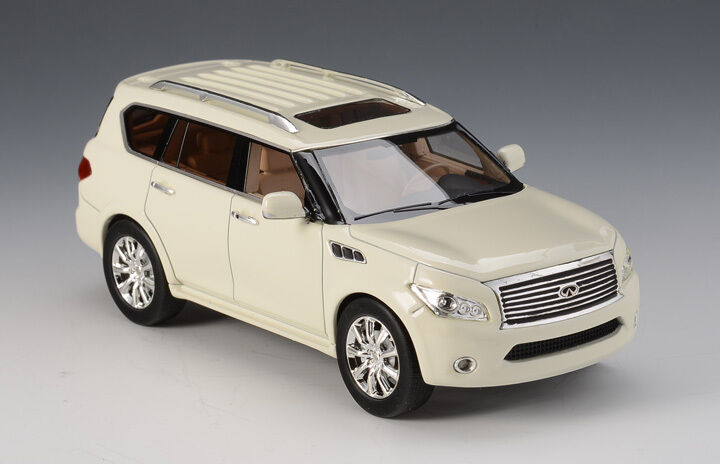 Infiniti qx56 2011 blanco Limited Edition (299 PC) 1 43 MODEL GLM Models