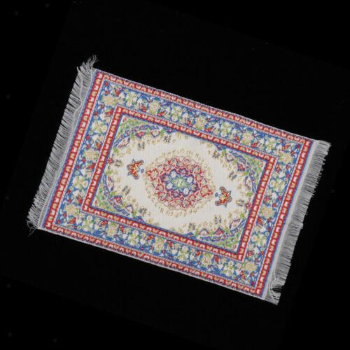 1//12 Miniature Dolls House Turkish Style Carpets Miniature Furniture Ornaments
