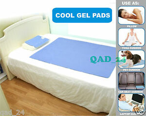 Image Is Loading Gel Cooling Pad Heat Absorbing Hot Flush Mat