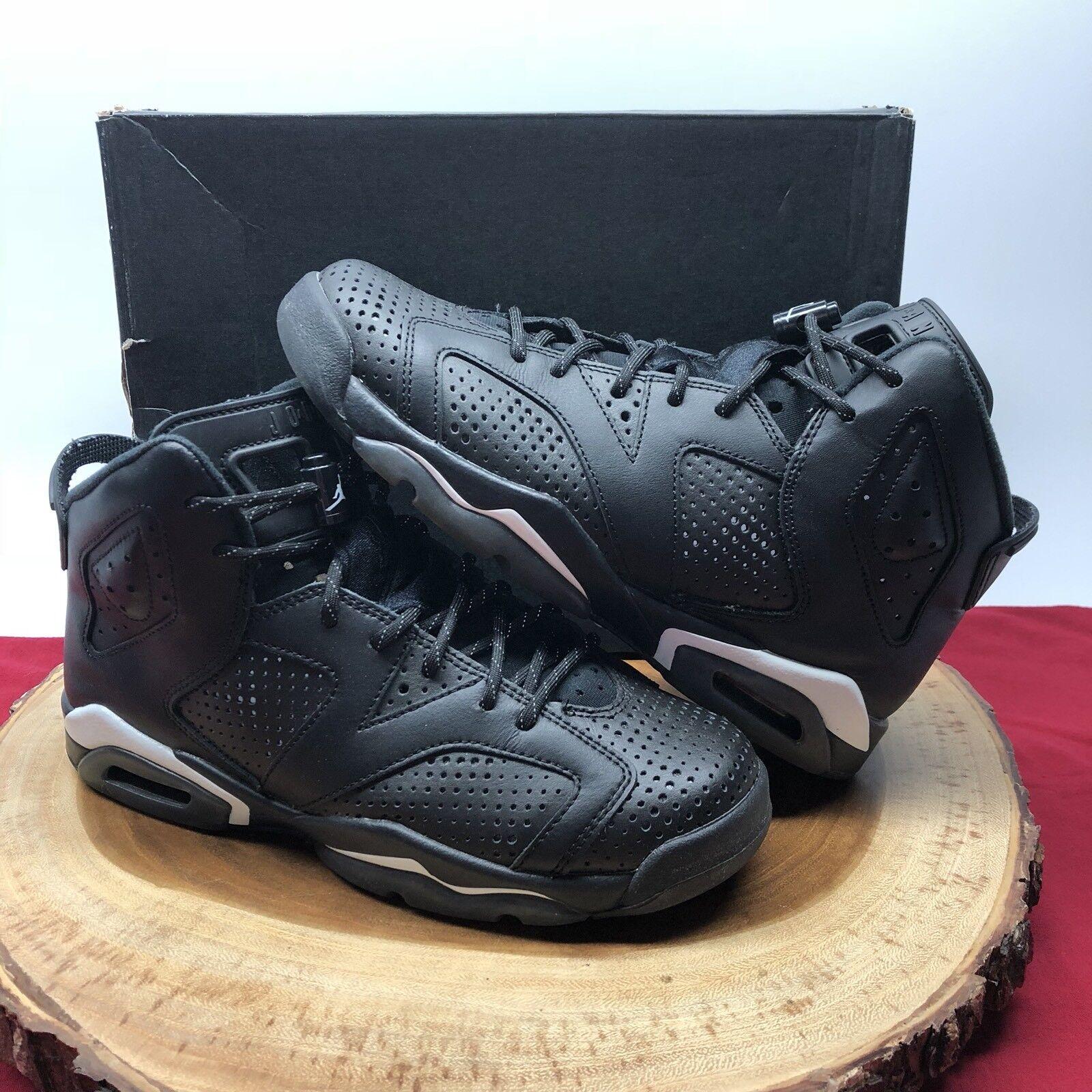 Nike air jordan retro vi gatto nero 3 dimensioni 384665 020 vii - iii, iv, xi - xii
