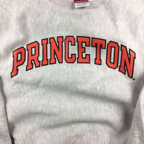 Vintage Champion Reverse Weave Princeton Crewneck