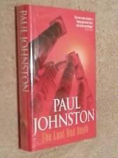 Paul Johnston THE LAST RED DEATH 1st Edn UKHC