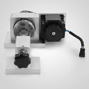 New-CNC-Router-Rotational-Rotary-Axis-A-axis-4th-axis-3-Jaw-fantastic