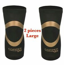 2 Pack - Copper Fit PRO Series Performance Compression Knee Sleeve  Large