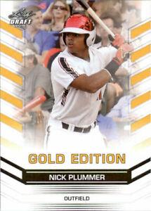 034-Rare-034-Nick-Plummer-2015-Feuille-Draft-034-or-Edition-034-Debutant