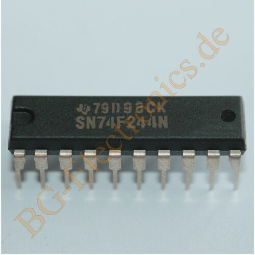 4 x SN74F244N Octal Buffer//Driver with 3-State Outputs TI DIP-20 4pcs
