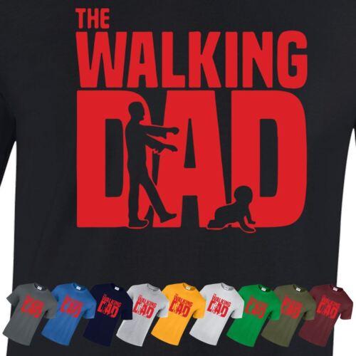 The Walking Dad T SHIRT Fan Père jour drôle cadeau homme CADEAU haut robe T-Shirt