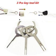 Removel Key Tool 3pcs// Kit Car Electrical Terminal Wiring Crimp Connector P R4D3