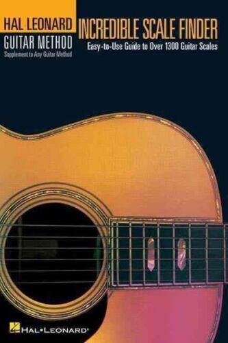 1 of 1 - Hal Leonard Guitar Method: Incredible Scale Finder