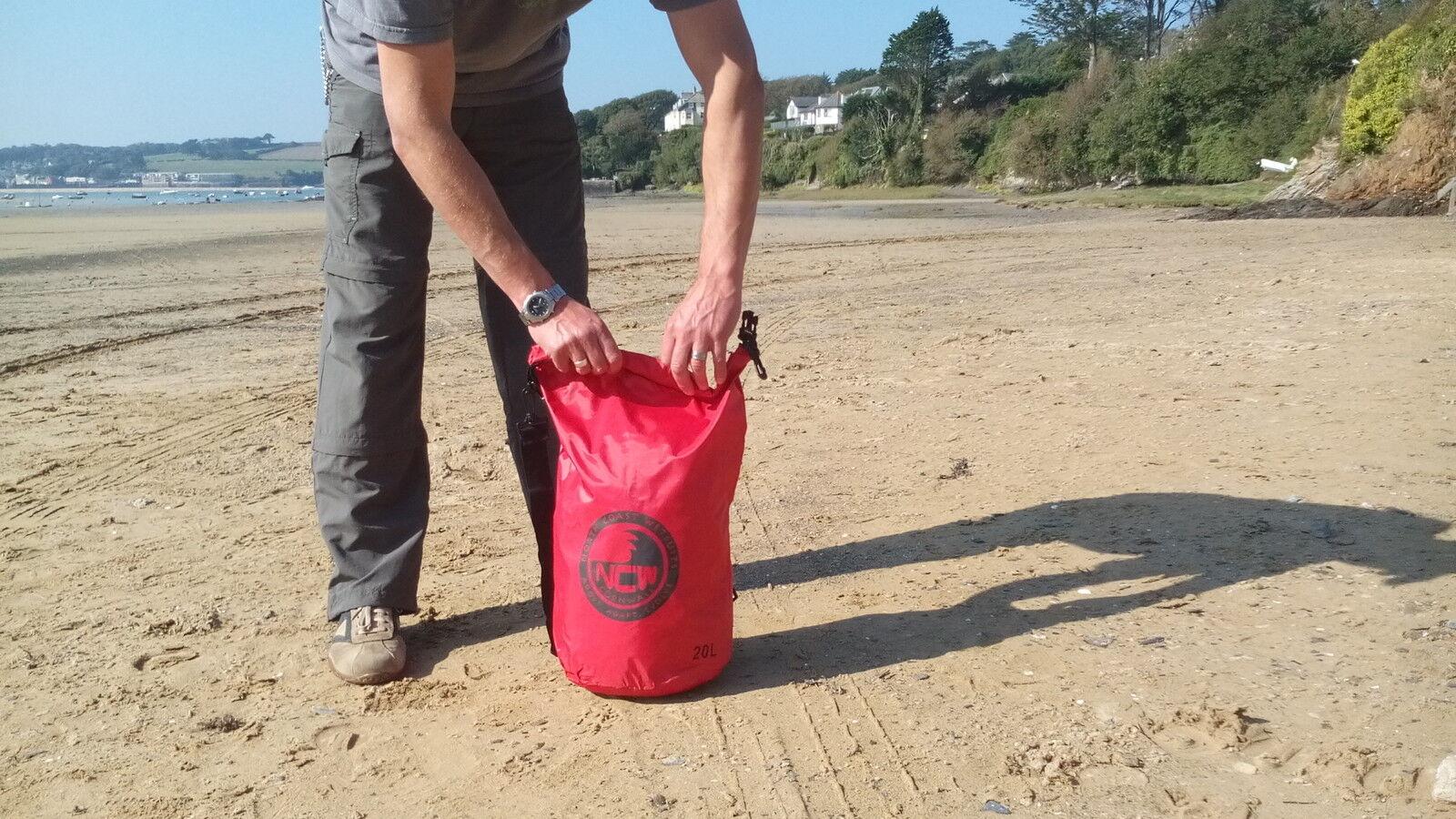 20L poids Drybag poids 20L léger imperméable HD bandoulière en nylon. Transporter. beaucoup de kit 44e41a