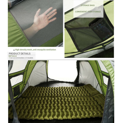 3~4 Person Man Family Tent Instant Pop Up Tent Breathable Outdoor Camping Hiking