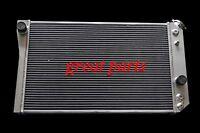 3 Row 1984-90 Corvette Sb V8 (chevy S10 V8 Conversion) Aluminum Radiator