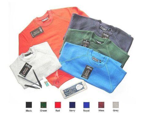 École Col Rond Pull Sweater Sweat-shirt-Beaucoup de Couleurs et Tailles