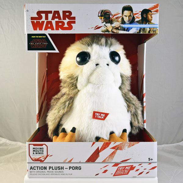 Última Jedi De Estrella Wars Acción Porg Felpa