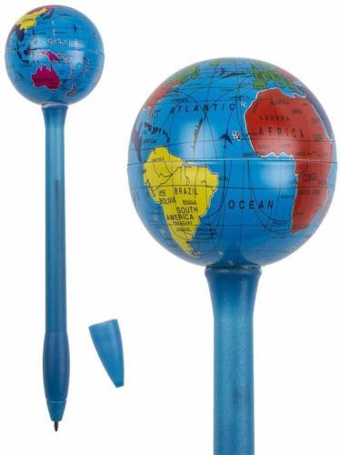 planisphère Stylo à bille avec globe terrestre en métal Stylo planète terre