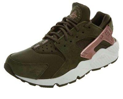 Olive//Rose Gold. Nike Women's Air Huarache Run AT5700 300