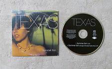 "CD AUDIO MUSIQUE / TEXAS ""SUMMER SON"" 1999 CD SINGLE 2 TRACKS MERCURY 562 244-2"