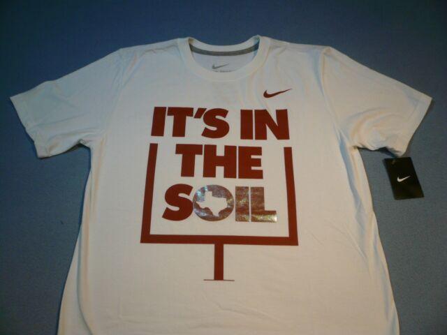 Nike Men's Texas It's In The Soil Football T Shirt Small