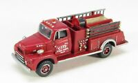 N Scale 50's R-190 Fire Truck Kit By Showcase Miniatures (101)