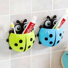 Hot!New 2014 Cute Cartoon Sucker Toothbrush Holder Ladybug Bathroom Set Green