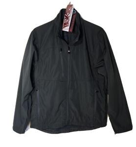 115K-Colorado-Timberline-Lightweight-Men-039-s-Lined-Dark-Gray-Zip-Up-Jacket-XL-NEW
