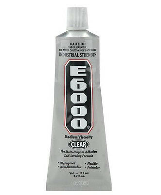 E-6000 Clear Jewelry & Craft Adhesive  *Choose your size OR Nozzles