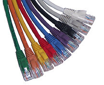 (50) 10' Blue Cat6 Patch Cables Matige Prijs