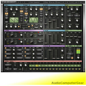 Waves-ELEMENT-2-0-Virtual-Analog-Synthesizer-Software-Synth-Plugin-Native-NEW