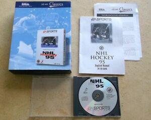 NHL Hockey 95-EA Deportes-PC CD-ROM-versión caja grande