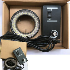 60 Led Adjustable Ring Light Illuminator Lamp For Stereo Zoom Microscope