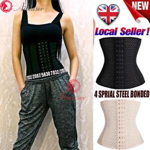 8eb1bfb49cd UK Hot Women XS-7XL Slimming Body Shaper Womens Waist Trainer ...