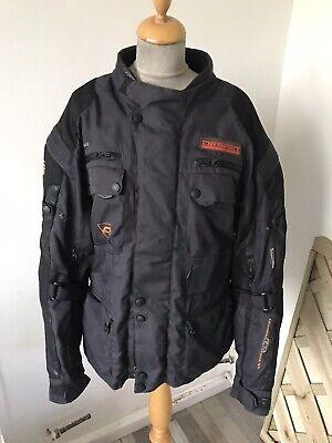 Akito Desert Textile Motorcycle Biker Jacket size XL chest ...