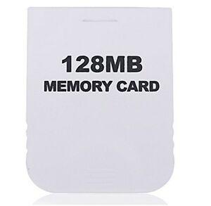 Carte-Memoire-generique-128-Mo-Pour-Nintendo-Wii-Gamecube-NGC-memory-card