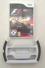 F1 2009 AND OFFICIAL F1 STEERING WHEEL WII PAL