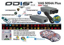 2017 VAS 5054A Plus EOBD OBD2 Diagnostic Tool ODIS 3.0.3 Postsetup 9.3.10 OKI