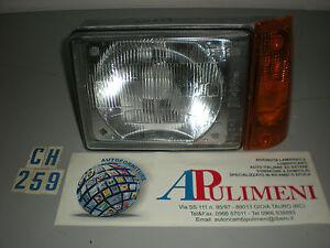 FARO PROIETTORE (HEAD LAMPS) FIAT PANDA 30-45-4X4 01/83->12/85 SX ASM CARELLO
